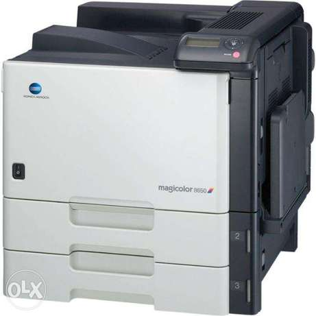 Konica Minolta Magic Color 8650 DN and full ink set for sale