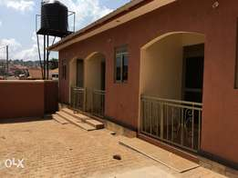 a new double house for rent in Kireka