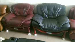 Sofa leather chairs by 7seaters