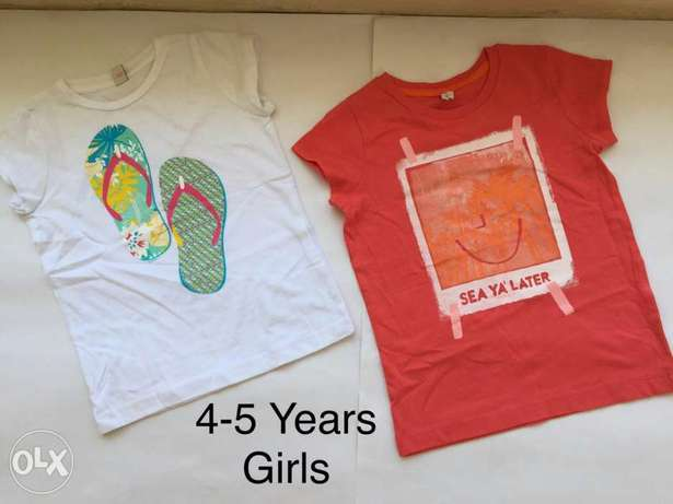 Summer T-Shirts for Boys and Girls Mombasa Island - image 1