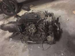 Big Block Chevy Engine with Gearbox for SALE