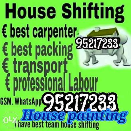 House shifting and painting