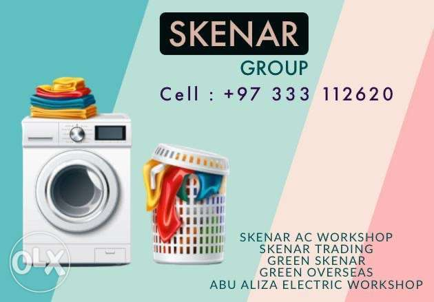 all type washing machines repair