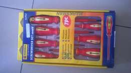 7 pc VDE screwdrivers