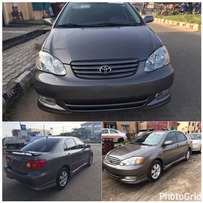 Accident Free Tokunbo 2003 Toyota Corolla Sport