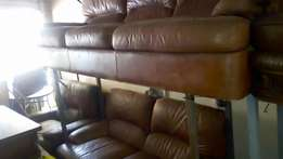 Genuine leather sofasets