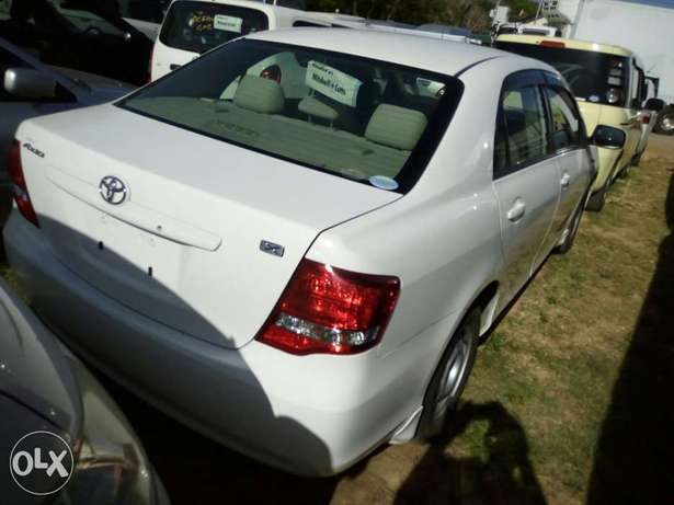Fresh import KCN Light interior white Toyota Axio Mombasa Island - image 4