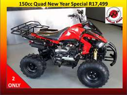 New Quads 150cc Auto with Reverse.
