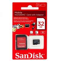 32GB SD Card Sandisk.