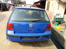 Volkswagen Golf 4, 2000 Blue