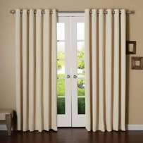 Plain curtains free delivery