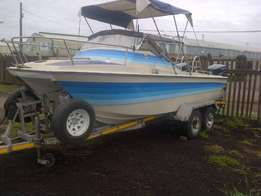 21ft Aqua Cat,2x115Hp Yamaha T n T,Hydraulic Steering !!