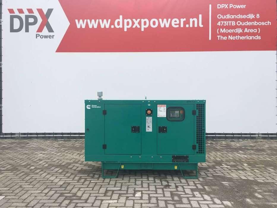 Cummins C22 D5 - 22 kVA Generator - DPX-18501 - 2019