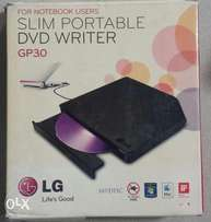 LG Ultra Slim Portable DVD Writer GP30. /WinOS