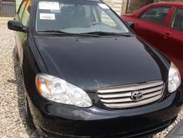 Super Clean Tokunbo Toyota Corolla 2004 Black