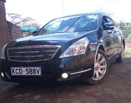 Nissan Teana High Grade Model Full Leather Interior Axis Edition