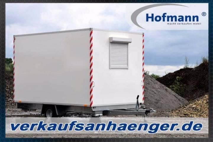 Hofmann bauwagen anhänger 360x210x210cm premium