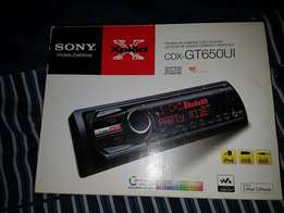 Sony car radio,amplifier make an offer for all 4 items