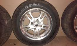 """13"""" mags and tyres"""