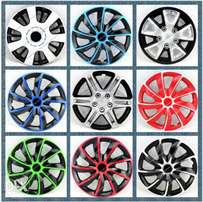 Car wheel covers, 13/14/15 inch, Free delivery within Nairobi cbd.