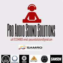 Sound and PA hire with DJ services!