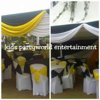 specialists in kids events and birthdays for hire tents,table,chairs