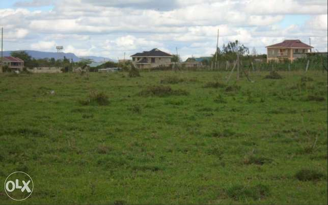 21 by 18.9 Mtrs: Large 1/8 Acre:Kitengela Nonkopir: Fixed Price Fenced Nairobi CBD - image 1