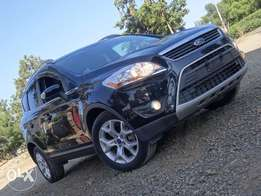 Ford Kuga black colour 2010 model excellent condition