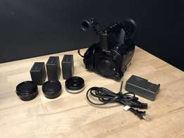 Panasonic AF-100 Video Camera With Extras