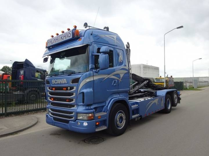 Scania R 420 6 X 2 + HOOKSYSTEM !! NEW CONDITION !! - 2012