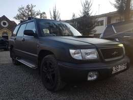 Subaru forester mat black colour used excellent condition
