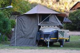 2015 6 Foot Wildernis 310 Off Road Trailer with tent (Challenger)