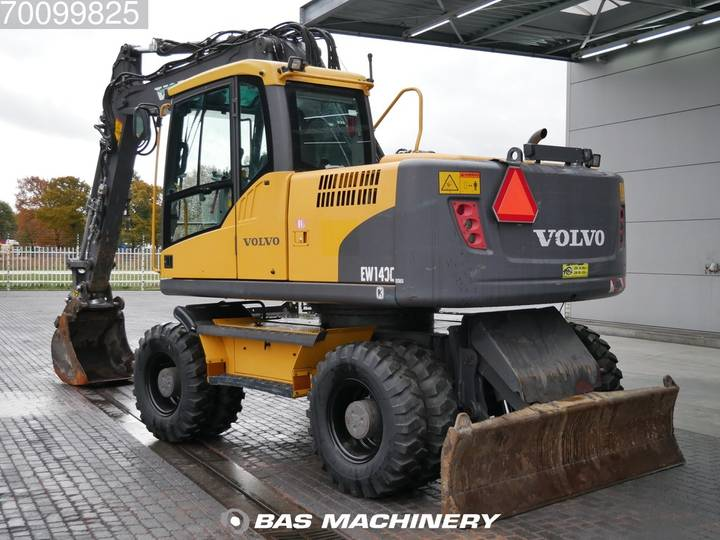 Volvo EW140C New tyres - all functions - 2010 - image 2