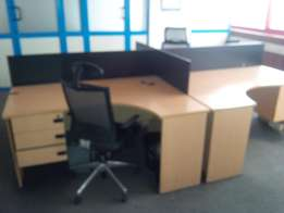 4 in 1 workstation office - Hot Cake