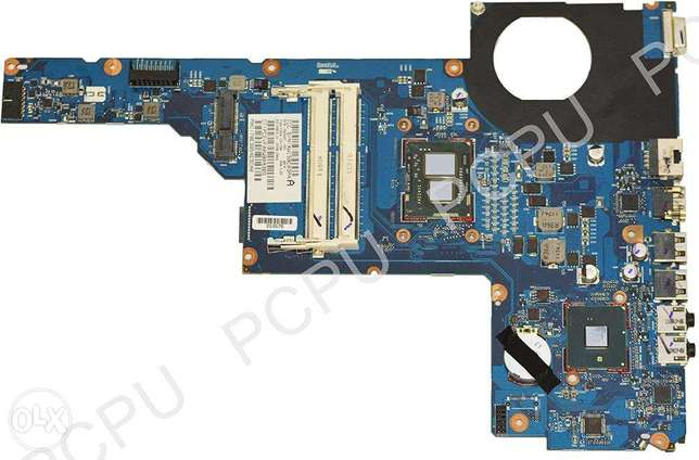 HP G4 G6 G7 Laptop Motherboard DDR3 DAR18DMB6D0,with cpu I3-370M