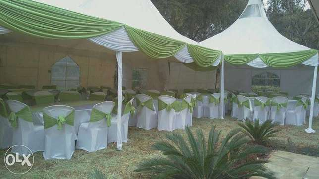 we make and hire tents,chairs,tables and decoration Parklands - image 1