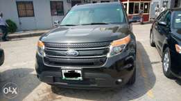 Well used Ford explorer 2013