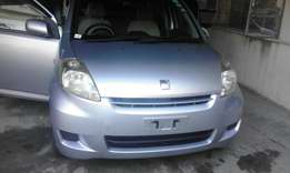 Toyota passo silver 2009 on sale