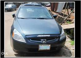 Registered Honda Accord EOD 2003 Model