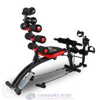 Gym Six Packs Care Total Body Gym Station Exercise Bike