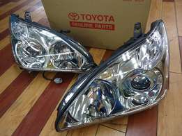 harrier headlight xenon