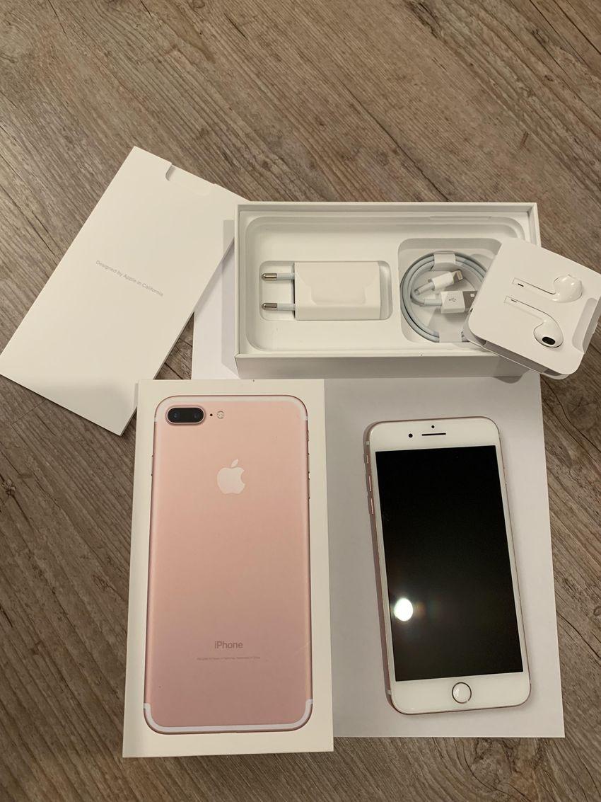 Prodám - iPhone 7 Plus 128 GB Rose Gold - Mobilní telefony ... a66b2158730