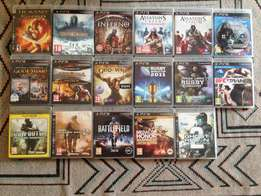17 X PS 3 Games for sale R1700.00