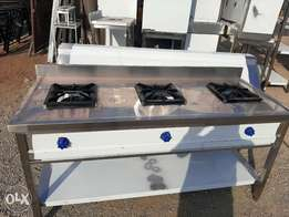 Gas stove heavy duty for hotels