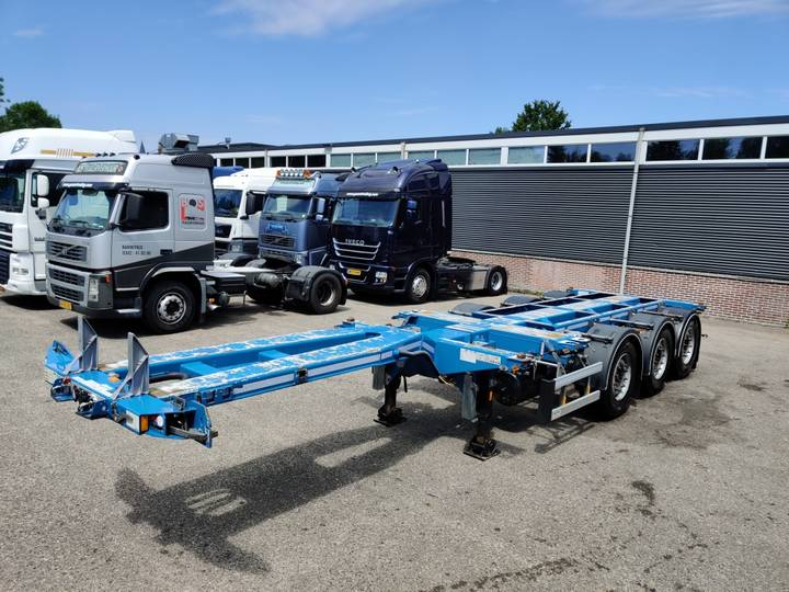 D-tec FLEXITRAILER MULTI SAF-assen Schijfremmen - Lift-as - 07/... - 2014