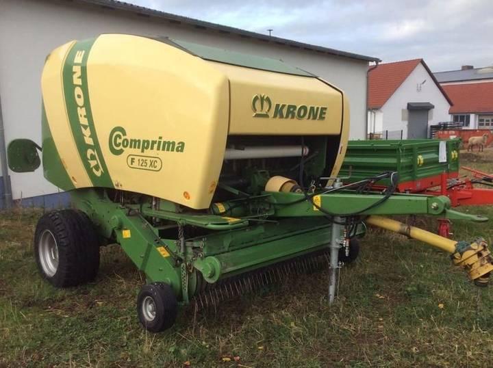 Krone comprima  f 125 xc - 2013