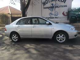 2006 Silver Toyota Corolla 1.8i GXS Full house for sale