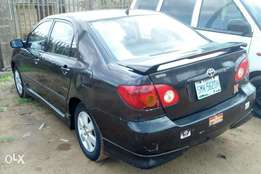 A first body Toyota corolla sport