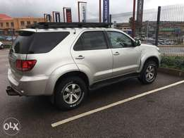 Toyota fortuner 3.0D 4x4 manual