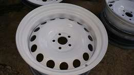 16 inch Widened Steelies 5x100